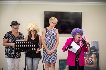 Auditions for Dame Edna's Movie